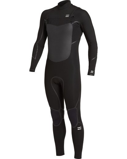 1 4/3 Absolute+ Chest Zip Wetsuit Black MWFU3BE4 Billabong