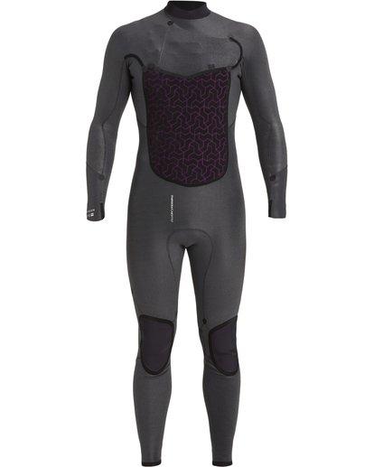 7 4/3 Absolute+ Chest Zip Wetsuit Black MWFU3BE4 Billabong
