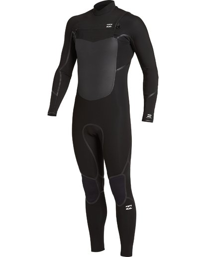 0 4/3 Absolute+ Chest Zip Wetsuit Black MWFU3BE4 Billabong