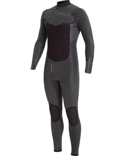 6 4/3 Absolute+ Chest Zip Wetsuit Black MWFU3BE4 Billabong