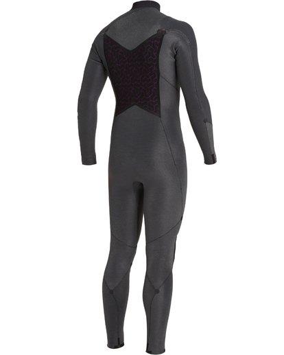 8 4/3 Absolute+ Chest Zip Wetsuit Black MWFU3BE4 Billabong