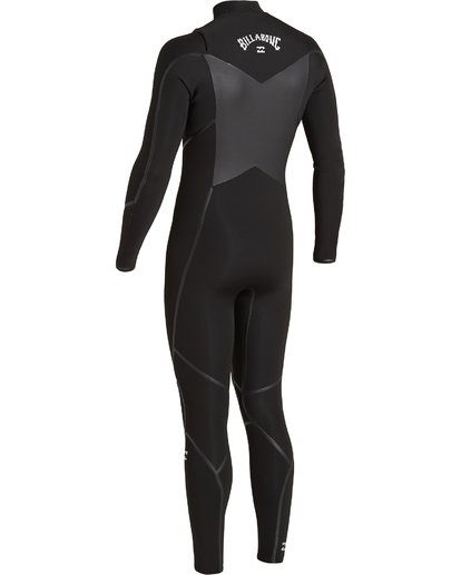 3 4/3 Absolute+ Chest Zip Wetsuit Black MWFU3BE4 Billabong