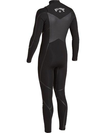 5 4/3 Absolute+ Chest Zip Wetsuit Black MWFU3BE4 Billabong