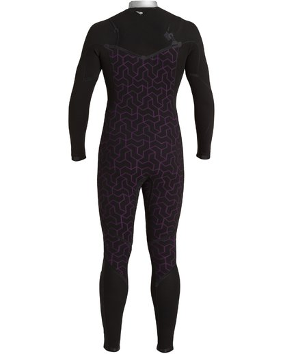 9 3/2 Furnace Comp Chest Zip Wetsuit Black MWFU3BF3 Billabong