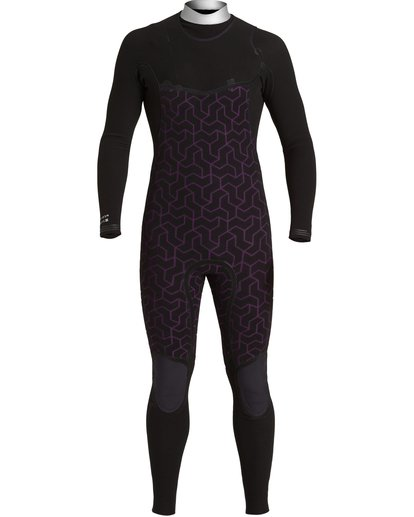 7 3/2 Furnace Comp Chest Zip Wetsuit Black MWFU3BF3 Billabong