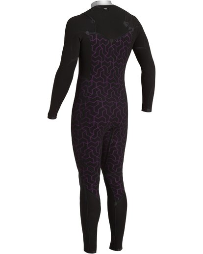 8 3/2 Furnace Comp Chest Zip Wetsuit Black MWFU3BF3 Billabong