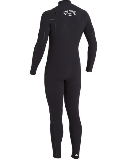 3 3/2 Furnace Comp Chest Zip Wetsuit Black MWFU3BF3 Billabong