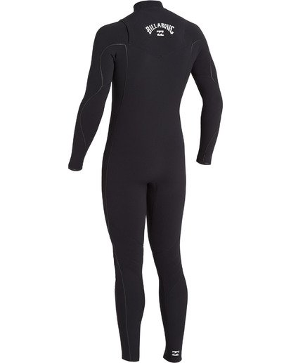 5 3/2 Furnace Comp Chest Zip Wetsuit Black MWFU3BF3 Billabong