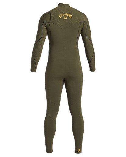 3 3/2 Furnace Comp Chest Zip Wetsuit Green MWFU3BF3 Billabong
