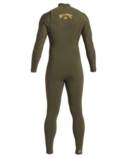 3 3/2 Furnace Comp Chest Zip Wetsuit Green MWFU3BF3 Billabong