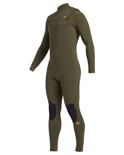 0 3/2 Furnace Comp Chest Zip Wetsuit Green MWFU3BF3 Billabong