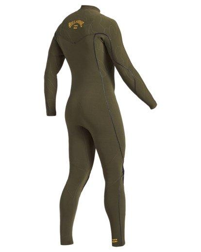 2 3/2 Furnace Comp Chest Zip Wetsuit Green MWFU3BF3 Billabong