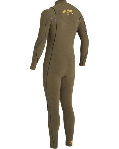 2 3/2 Furnace Comp Chest Zip Wetsuit Green MWFU3BF3 Billabong