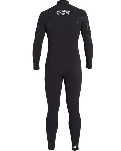 4 4/3 Furnace Comp Chest Zip Wetsuit Black MWFU3BF4 Billabong