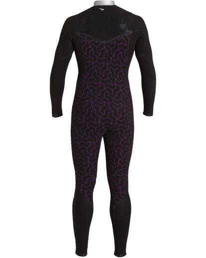 9 4/3 Furnace Comp Chest Zip Wetsuit Black MWFU3BF4 Billabong