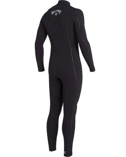 2 4/3 Furnace Comp Chest Zip Wetsuit Black MWFU3BF4 Billabong