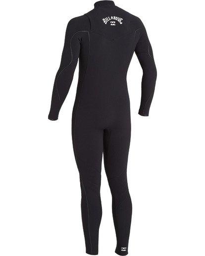 5 4/3 Furnace Comp Chest Zip Wetsuit Black MWFU3BF4 Billabong