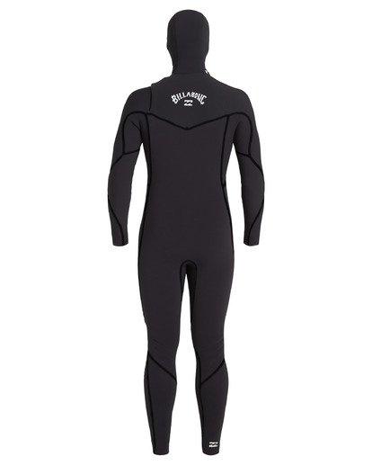 4 5/4 Furnace Hooded Wetsuit Black MWFU3BH5 Billabong