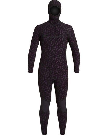 6 5/4 Furnace Hooded Wetsuit Black MWFU3BH5 Billabong