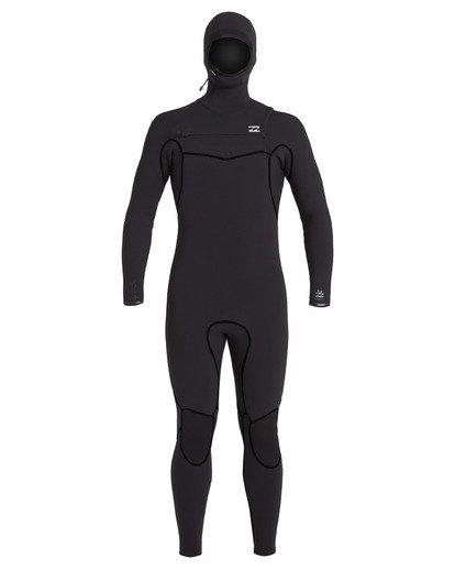 2 5/4 Furnace Hooded Wetsuit Black MWFU3BH5 Billabong
