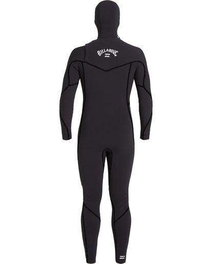 3 6/5 Furnace Hooded Full Wetsuit Black MWFU3BH6 Billabong