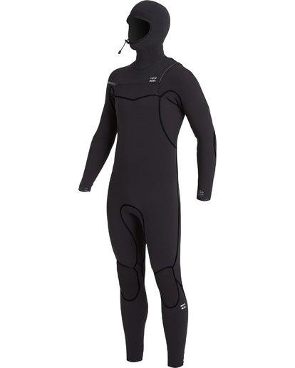 0 6/5 Furnace Hooded Full Wetsuit Black MWFU3BH6 Billabong