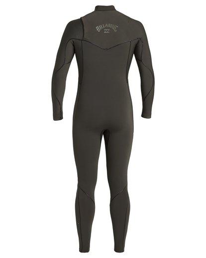 4 4/3 Furnace Natural Zipperless Full Wetsuit Blue MWFU3BN4 Billabong