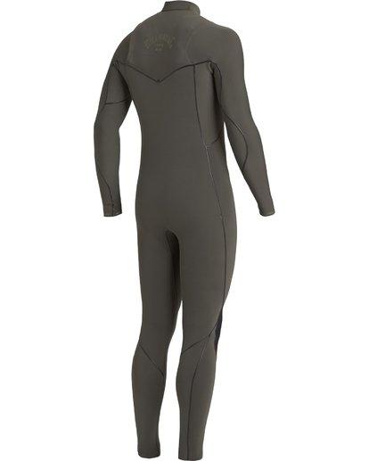 3 4/3 Furnace Natural Zipperless Full Wetsuit Blue MWFU3BN4 Billabong