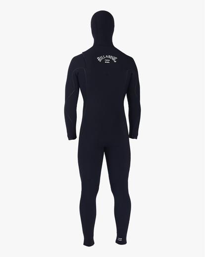 3 4/3 Furnace Comp Hooded Full Wetsuit Black MWFU3BO4 Billabong