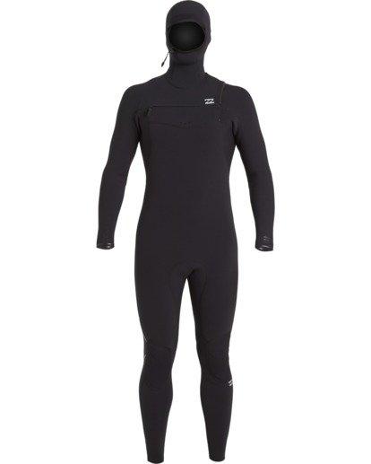 1 4/3 Furnace Comp Hooded Full Wetsuit Black MWFU3BO4 Billabong