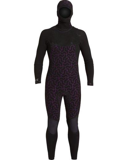 5 4/3 Furnace Comp Hooded Full Wetsuit Black MWFU3BO4 Billabong