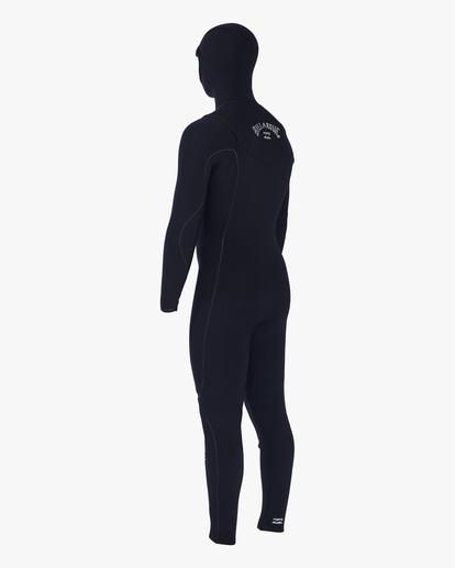 2 4/3 Furnace Comp Hooded Full Wetsuit Black MWFU3BO4 Billabong