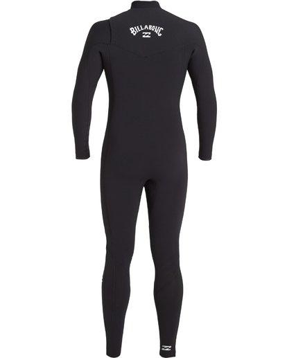 3 3/2 Revolution Pro Chest Zip Wetsuit Black MWFU3BP3 Billabong