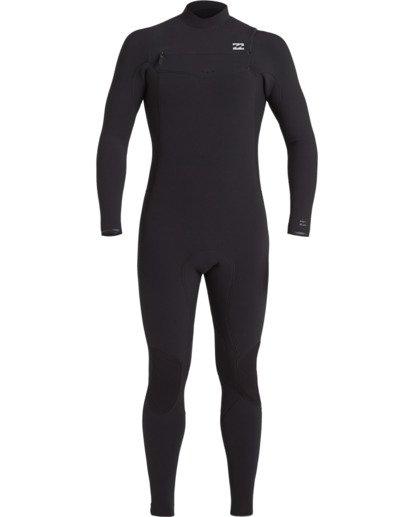 1 3/2 Revolution Pro Chest Zip Wetsuit Black MWFU3BP3 Billabong