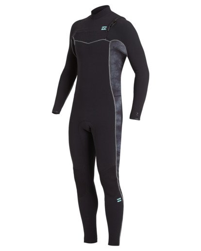 0 3/2 Revolution Pro Chest Zip Wetsuit Black MWFU3BP3 Billabong