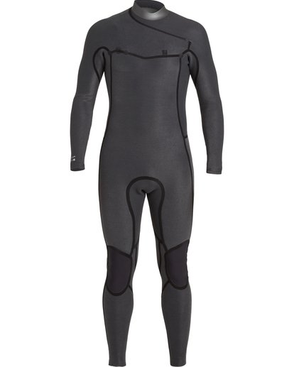 5 3/2 Revolution Pro Chest Zip Wetsuit Black MWFU3BP3 Billabong