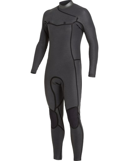 4 3/2 Revolution Pro Chest Zip Wetsuit Black MWFU3BP3 Billabong