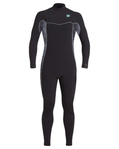 1 3/2 Revolution Pro Chest Zip Wetsuit Black MWFU3BP3 Billabong