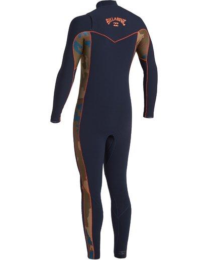2 3/2 Revolution Pro Chest Zip Wetsuit Blue MWFU3BP3 Billabong