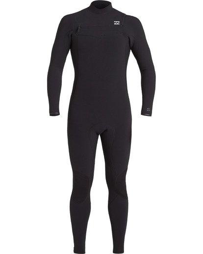 4 4/3 Revolution Pro Chest Zip Wetsuit Black MWFU3BP4 Billabong