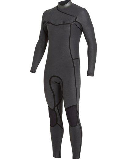 6 4/3 Revolution Pro Chest Zip Wetsuit Black MWFU3BP4 Billabong