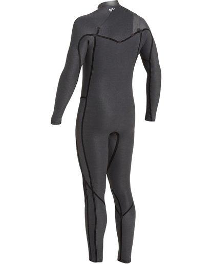 7 4/3 Revolution Pro Chest Zip Wetsuit Black MWFU3BP4 Billabong