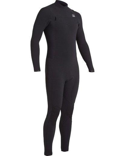 3 4/3 Revolution Pro Chest Zip Wetsuit Black MWFU3BP4 Billabong
