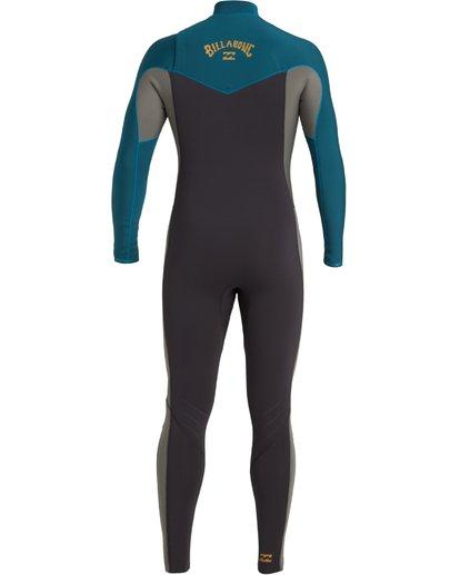 3 3/2 Revolution Chest Zip Wetsuit Black MWFU3BR3 Billabong