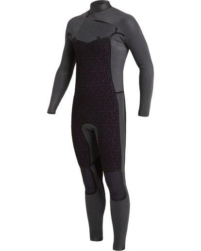 4 3/2 Revolution Chest Zip Wetsuit Black MWFU3BR3 Billabong