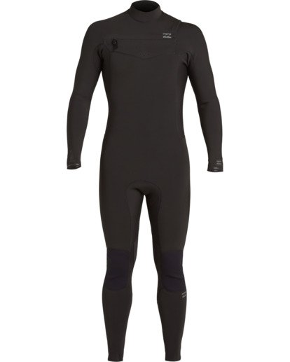 1 3/2 Revolution Chest Zip Wetsuit Black MWFU3BR3 Billabong