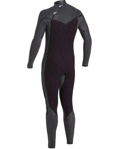 6 3/2 Revolution Chest Zip Wetsuit Black MWFU3BR3 Billabong