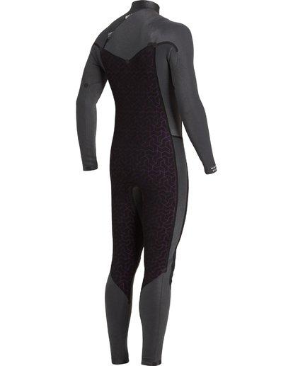 7 3/2 Revolution Chest Zip Wetsuit Black MWFU3BR3 Billabong