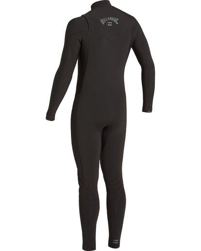 2 3/2 Revolution Chest Zip Wetsuit Black MWFU3BR3 Billabong
