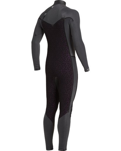 9 4/3 Revolution Chest Zip Wetsuit Black MWFU3BR4 Billabong